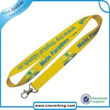 2015 manufacturer lanyards with pen holder and clip