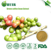 Pure Green Coffee Bean Extract/Green Coffee P.E./ Green Coffee Bean Extract,100% Natural Chlorogenic Acids