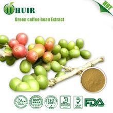 Pure Green Coffee Bean Extract/Green Coffee P.E./ Green Coffee Bean Extract,100% Natural Chlorogenic Acids