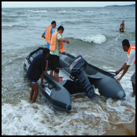 Combat Rubber Raiding Craft Boat