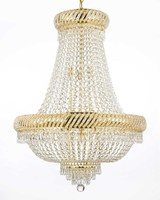 L0421-4533 new clear crystal K9 Chandeliers modelos de lustres for sale