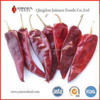 Natural air dried red hot chili whole
