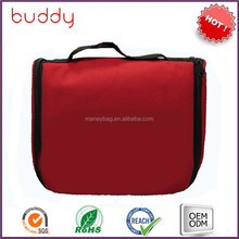 600D polyester mens hanging toielry bag for travel