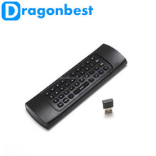 New 2.4Ghz Wireless Mini Keyboard MX3 Keyboard with IR Learning Mode Air Mouse Remote Control Keyboard for PC Android TV Box