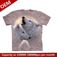 animal printing 3d t shirt,fashion t-shirt,low prices 3d tshirt