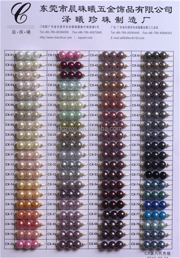Newest color chart1