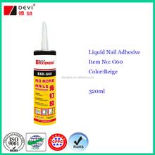 320ml bond nail glue,no more nails, liquid nail adhesive