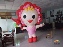 inflatable advertising cartoon model of fcute girl