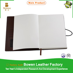 custom made change color pu leather notebook,debossed logo pu leather notebook