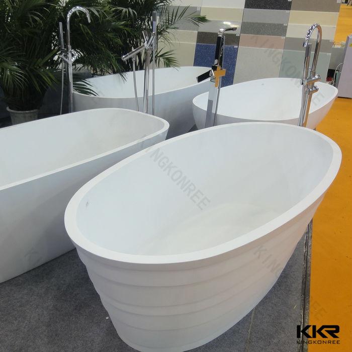 best quality solid surface stone black bathtub view black bathtub