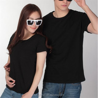 cheapest price cotton fabric casual plain t shirt