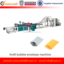 DNG-650F high speed Double Line Kraft Bubble Bag Mailer Making machine