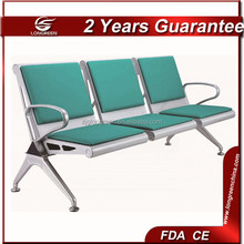LG-PY306 Luxurious strengthen 3 seats airport lounge chairs