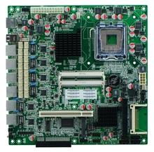 G41 LGA 771 Motherboard with Baypass routing ATX motherboard, 6 LAN firewall motherboard