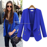 OEM Factory New Fashion Women Office Formal Dress Blazers Lady Small Suits