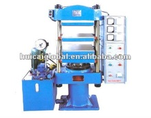 High Quality Pole Design Fine Steel Made 120 Ton Plate Rubber Vulcanizing Press - Rubber Band Making Machine