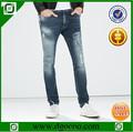 ocoo en iyi tasarım moda hasarlı maymun yıkanmış slim fit erkek son tasarım denim kot pantolon