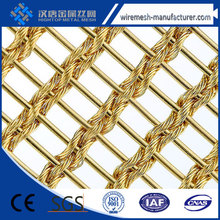 colored metal mesh curtain fabric, decorative wrie mesh
