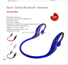 High Quality Fashion Bluetooth Stereo Headset,Bluetooth Headband Earphone For Smartphone