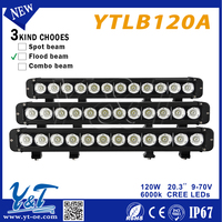 YTLB120A Emergency Rechargeable led offroad light bar 4X4 120w LED Light Bar Utility
