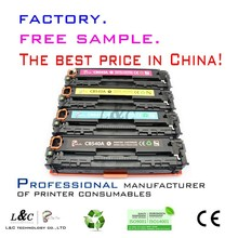 2015 best price compatible color laser printer CB540A(125A) series for hp Color LaserJet 1215/1315/1515/1518 toner cartridge