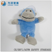 small size plush toy with sucker(monkey), Customised toys,CE/ASTM safety stardard