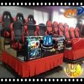 Diversión atractivo juego interactivo 5d / 8d / 9d / 12d cine 7d en venta