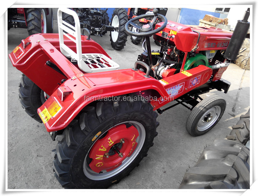 Tractor Wheel Discs : Four wheel farm tractor with disc plough and corn planter