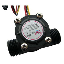 Water flow sensor (Sea) YF-S201 Flowmeter G1/2 1-30L/min Black