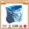 Women Summer Cheap Large Stripe Canvas Beach Tote Bag Wholesale