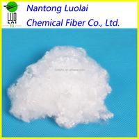 7D Polypropylene fiber virgin polyester fiber for bedding