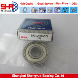 NSK deep groove ball bearing 608ZZ with wholesale price