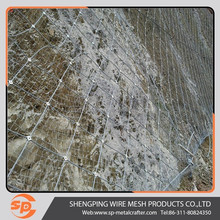 heavy chain link fence for slope protective fence