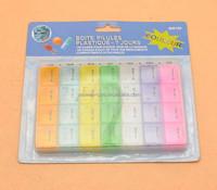 28 days plastic medicine pill box