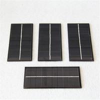 120*55mm 5V 200ma mini solar panel with mono crystalline solar cells