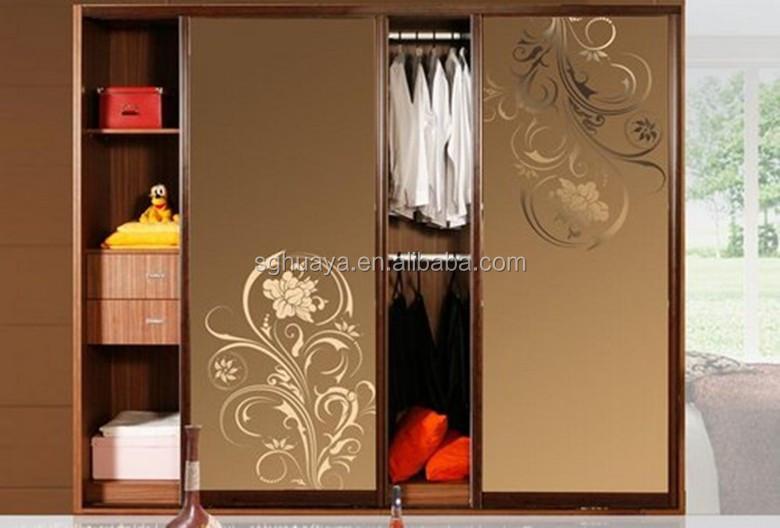 Modern Bedroom Sliding Door Wardrobe Design Indian Bedroom Wardrobe Designs