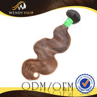 2014 New Style 100% Natural And Pure Dark Brown Color donor cheap body wave brazilian virgin hair