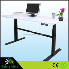 Electric Height Adjustable Sit Stand Standing Desk Table
