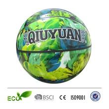 PU TPU PVC rubber bladder basketball hot sale 2015 custom basketball shiny basketball