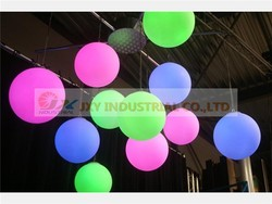 high quality led sport ball / plastic waterproof IP65 different size led balls