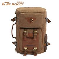 brand Kaukko wholesale one day best canvas materials travel bags