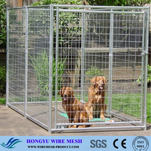 Factory Direct Sale Cheap Welded Wire Dog Kennels for sale / outdoor dog kennel designs