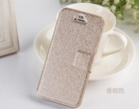 Hot Sale Wallet Case For Apple iPhone 5 /5s PU Leather Case with Card Holder