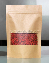 Costom new Style Kraft Paper Bag for health food