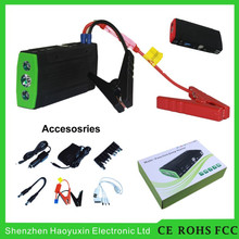 HOT 2015 China Multifunction powerful electric car motor Mini 12v rechargeable battery Jump Starter power booster