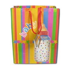 wholesale Fancy different shopping paper bag