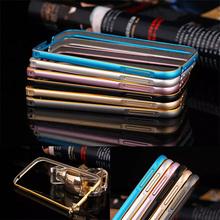 For Samsung Galaxy s4 Dual Color Aluminum Metal Bumper
