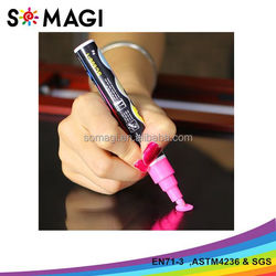 2016 OEM Brilliant White Color markers from china supplier for school supplies