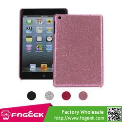 High Quality Shinning for iPad Mini Glitter Powder Mesh Coated Hard Case