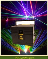 High Power 5w Laser Show Stage Lighting Rgb Full Color Animation Laser Light 5w